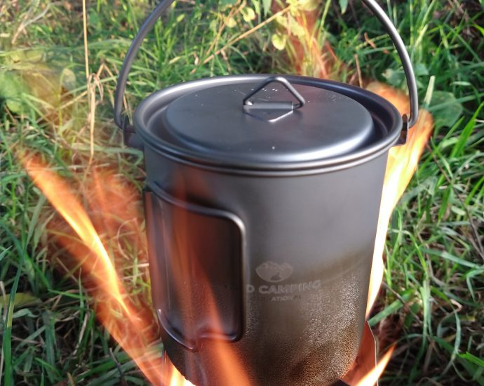 Titanium 750ml kettle