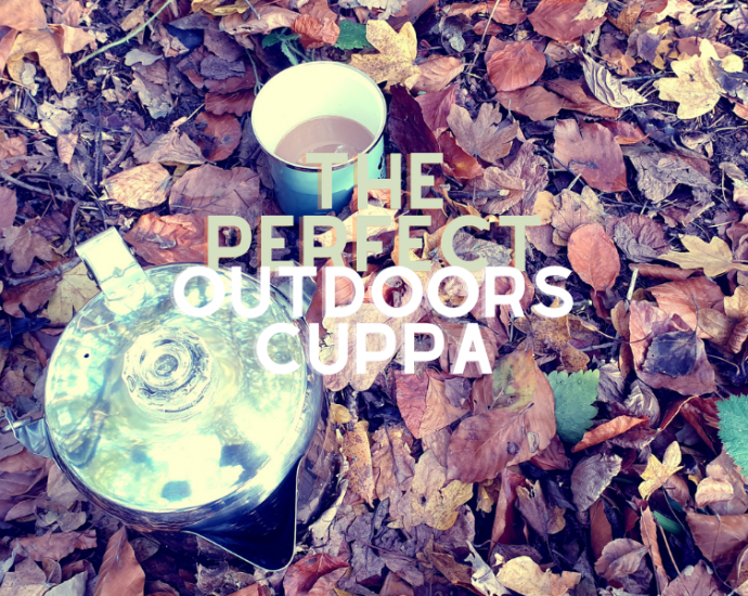 How to make the perfect cup of tea outdoors with Ever Wild Outdoors