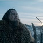 Leo Di Caprio as Hugh Glass in The Revenant