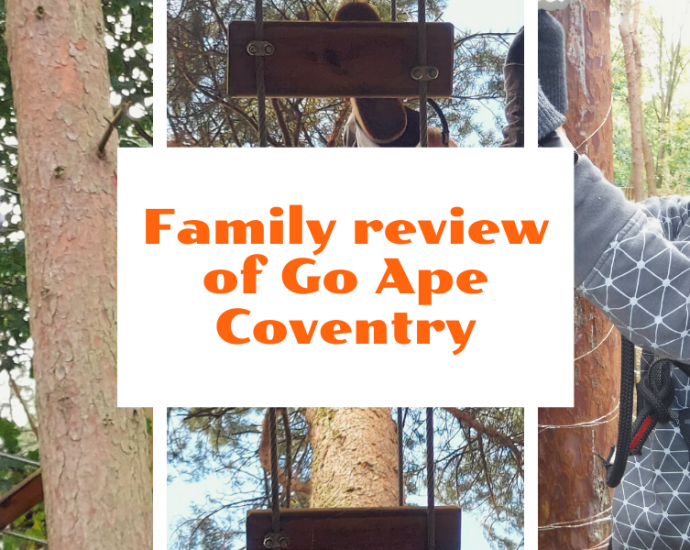 Family review of Go Ape on Ever Wild Outdoors