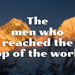The day Edmund Hillary and Tenzing Norgay claimed Everest and carved their names into history