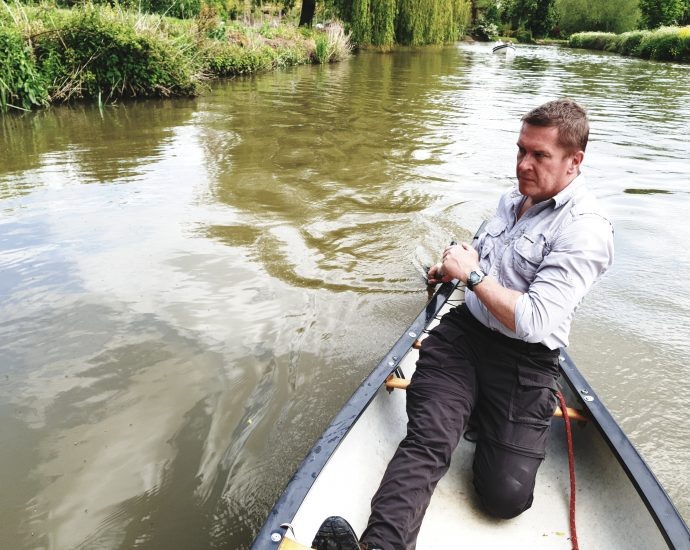 Darren Parkin will be the first canoeist to attempt a solo paddle of the Avon Ring in June.